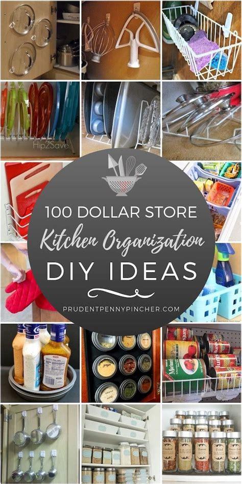 dollar store kitchen organization ideas cheap diy