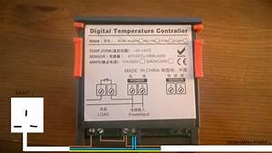 Advice On Wiring Power Supply To Digital Temperature Controller