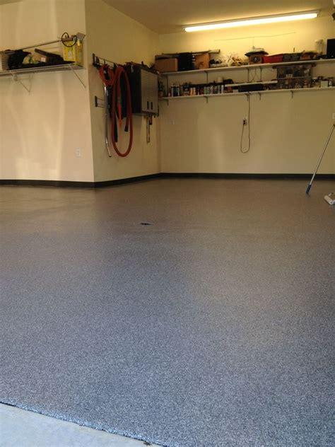 epoxy flooring vs vinyl flooring vinyl chip epoxy how its done decorative concrete of virginia va