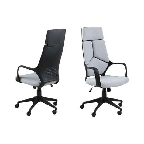 chaise bureau dos chaise de bureau boo dos haut gris clair leen bakker