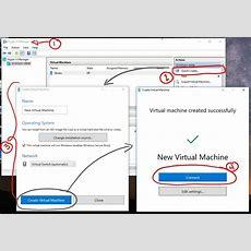 Créer Une Machine Virtuelle Avec Hyperv  Microsoft Docs