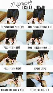 Hair Tutorial // Fishtail Braid — Treasures & Travels