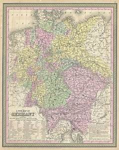 File:1853 Mitchell Map of Germany - Geographicus - Germany ...