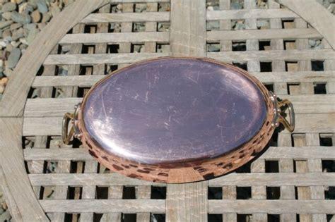 mauviel hammered copper  gratin  tin lining   france ebay