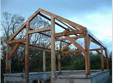 Timber Frame Greenhouse Felix Power