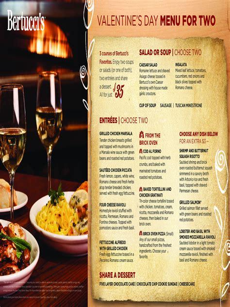 valentines day menu template   templates