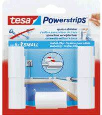 Tesa Powerstrips Haken : tesa powerstrips kabel clip 5 stk ab 2 63 preisvergleich bei ~ Frokenaadalensverden.com Haus und Dekorationen