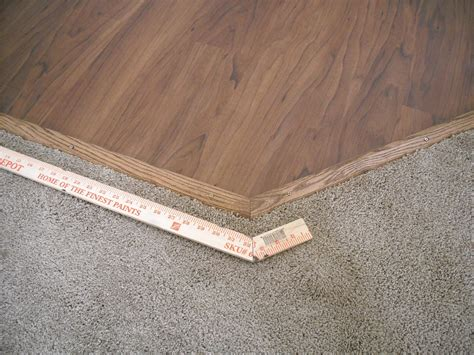 For baseboards, cut the tape in half and apply it to the top and bottom of the back side. Allure Trafficmaster Floor Transition Strips - Finishing my Allure Floor