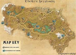 Elder Scrolls Online The Rift Skyshard Location Guides