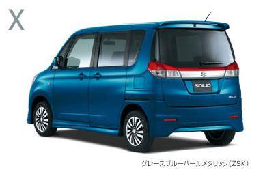 suzuki launches  solio small wagon  japan