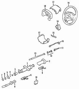 Cadillac Seville Steering Shaft  Wheel  Tilt  Power