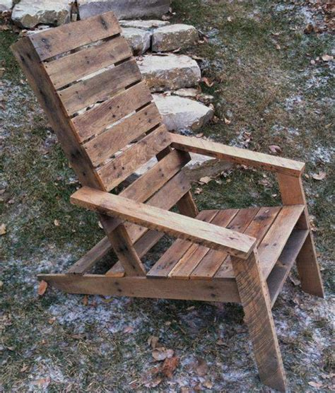 oak pallet adirondack chair pallet furniture plans