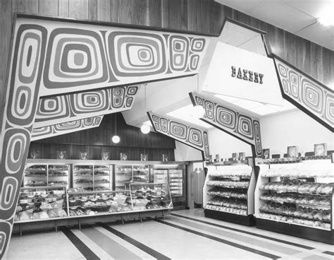 Groovy Interiors 1965 And 1974 Home Décor: Tacoma Mall Thriftway, 1965