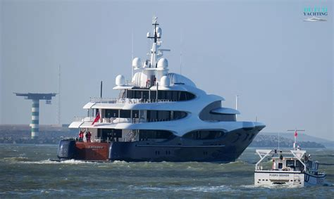 Yacht Barbara by Oceanco Y715 Superyacht Barbara Delivered Yacht Harbour