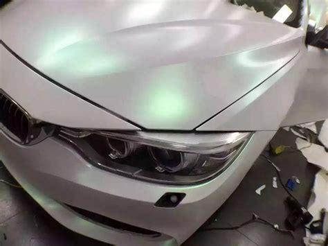 car wrapping folie 3d magic glitter wei 223 mit gr 252 nen flakes 1 52m breit
