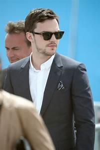 Nicholas Hoult Spotted in Tom Ford Sunglasses