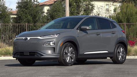 2019 Hyundai Kona Electric  Exterior & Interior (us Spec