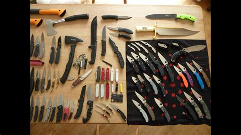 Sup3rSaiy3n's Knife Collection - YouTube