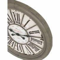 Grande Horloge Industrielle : horloges pendules achat horloges pendules pas cher rue du commerce ~ Teatrodelosmanantiales.com Idées de Décoration