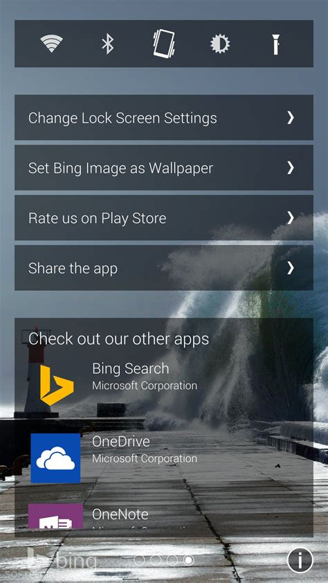 microsofts  lock screen app  android  gorgeous