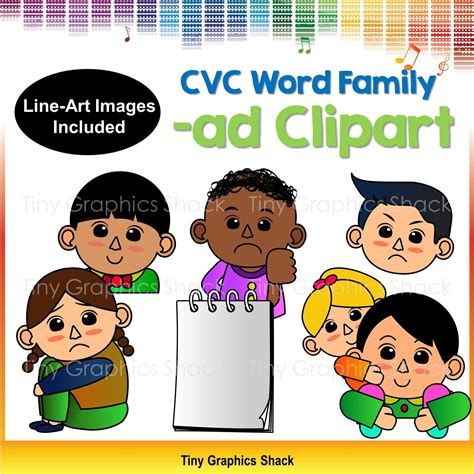 cvc ad family clip art short