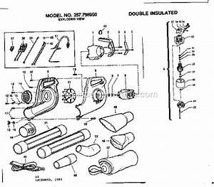 Craftsman Leaf Blower Parts Diagram : craftsman blower 257798950 ~ A.2002-acura-tl-radio.info Haus und Dekorationen