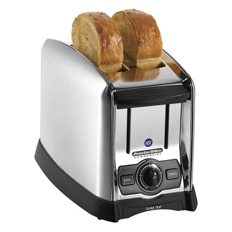 Bagel Toaster by Hamilton 22850 2 Slot Pop Up Toaster W Smart Bagel