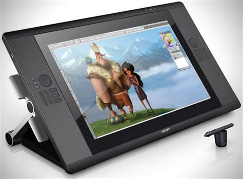 wacom monitor graphic cintiq 24hd interactive hiconsumption hd yours purchase amazon