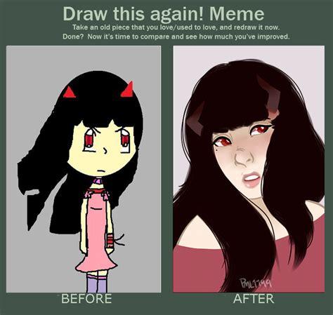 Draw This Again Meme Fail - draw this again meme by papayawhipped on deviantart