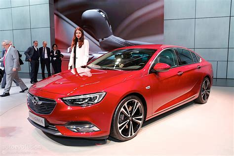 opel insignia second generation opel insignia showcased in geneva its