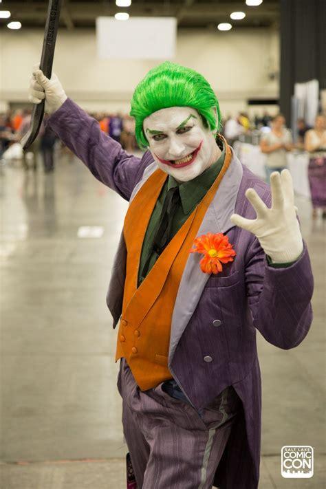 Joker Costume Cosplay From Salt Lake Comic Con 2016