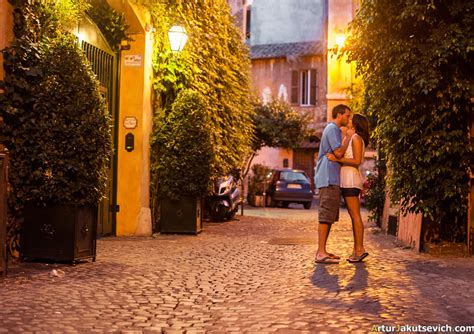 Night Photos From Trastevere The Most Romantic Place In
