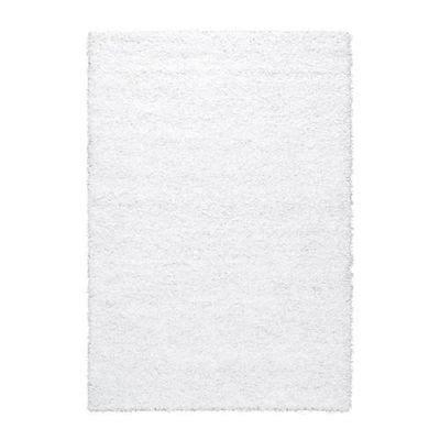 hampen tapis poils longs blanc 133x195 cm 30122552