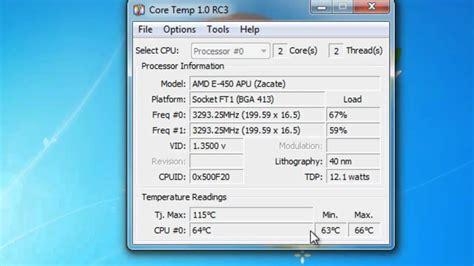 Measure Cpu Temperature