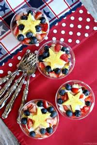4th of July Fruit Trifle Recipe
