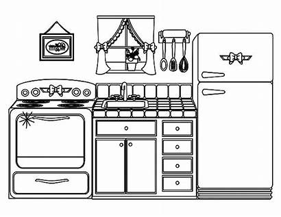 Coloring Kitchen Pages