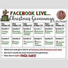 12 Days Of Christmas Giveaways Day Five  Out Of This Word Literacy