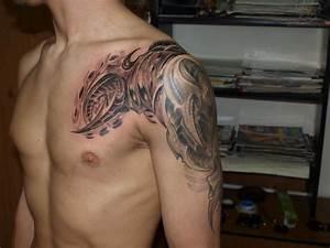 61 Tribal Shoulder Tattoos