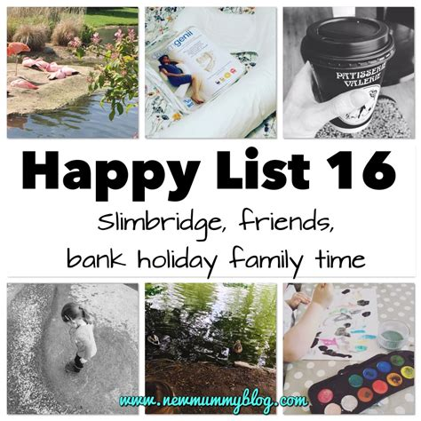 Happy List 16 Slimbridge Friends Bank Holiday Family
