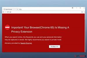 Remove  U201cyour Browser Chrome 65  Is Missing A Privacy