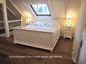 Landhaus Betten Holz : schlafen im landhausstil home zuhause schlafen schlafzimmerm bel ~ Markanthonyermac.com Haus und Dekorationen