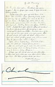 lot detail rare autograph letter signed from manson With autograph letters