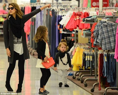 Jessica Alba Enjoys Family Shopping Trip To Budget Store