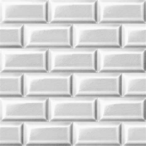 papier peint imitation carrelage cuisine papier peint carrelage metro blanc trompe l 39 oeil achat