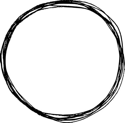 Example using circle svg animation. 6 Circle Scribble Pencil (PNG Transparent)   OnlyGFX.com