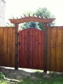 Back Yard Fence Gate Ideas