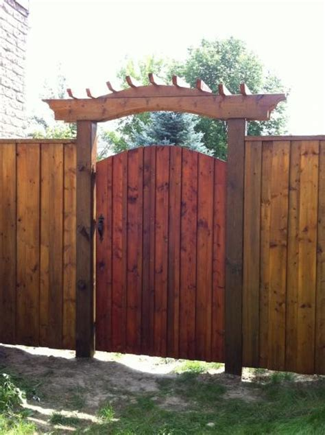 backyard gates star fencing gate ideas favorite places spaces pinterest