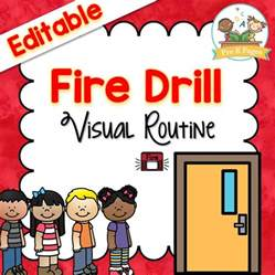 drill procedure pre k pages