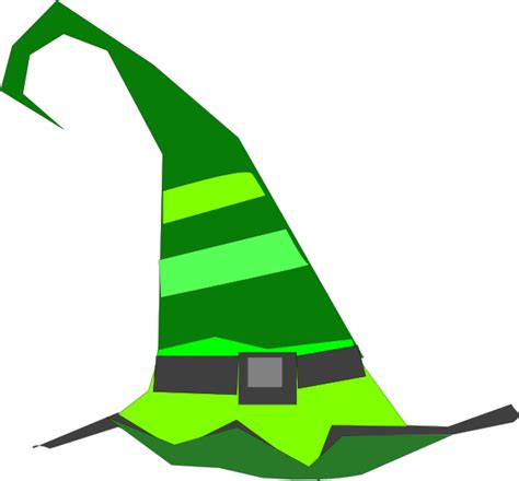 Witch Hat Clipart Green Witch Hat Clip At Clker Vector Clip