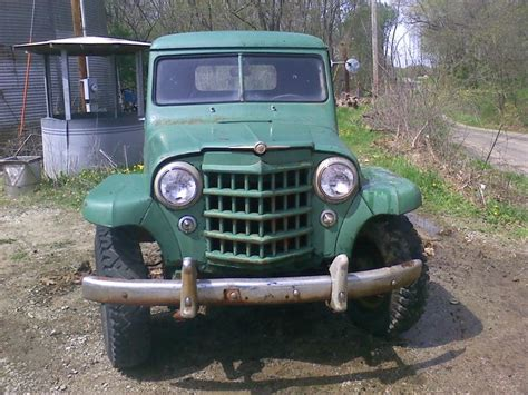 willys jeep pickup for sale for sale 1951 willy 39 s jeep pickup 4x4 off road